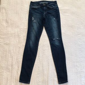 "Joes Jeans ""the Skinny"" fit distressed jeans"